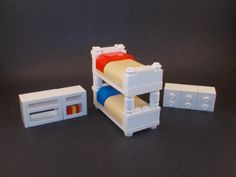 Kids Bedroom Set w/ Bunk Bed, Dresser  Shelving  Price : $19.00 http://www.interiorbricks.com/Kids-Bedroom-Bunk-Dresser-Shelving/dp/B00BEB9W7G