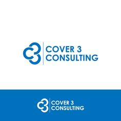 Logo that appeals to professional business conveying risk mgt of  football defense called Cover 3 by MataNanar