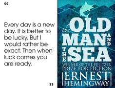 The Old Man and the Sea by Ernest Hemingway | 46 Brilliant Short Novels You Can Read In A Day