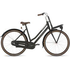 Gazelle Ladies Bike DutyNL 59cm 3V Matt Black
