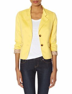 OBR Stand Collar Blazer from THELIMITED.com #TheLimited