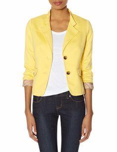 women's jackets, work flow, mish mash, outback red, collar blazer