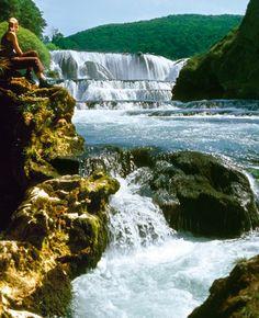 strbacki buk, Una river