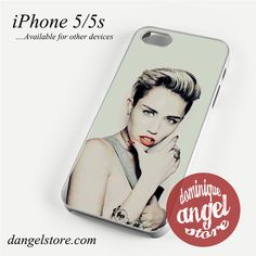 Miley Cyrus Stlye Phone case for iPhone 4/4s/5/5c/5s/6/6s/6 plus