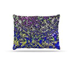 30 x 20 Pillow Sham Kess InHouse Nick Nareshni Sandy Beach Mandala Tan Black Pattern