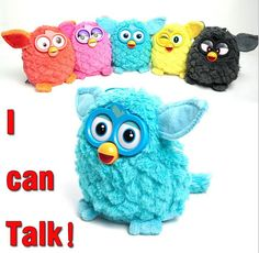 Đồ Chơi Điện Tử mới phoebe 7 Màu Điện Vật Nuôi Owl Elves Plush đồ chơi Recording Talking Đồ Chơi Quà Tặng Giáng Sinh với Furbiness boom