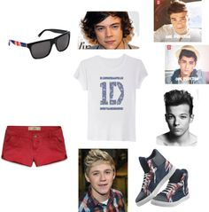 """""""One Direction *-*"""" by biah-001 ❤ liked on Polyvore"""