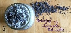 Enjoy a guilt-free, relaxing treat with these homemade herbal bath salts. Lavender, mineral salts, and essential oils treat the skin and senses!