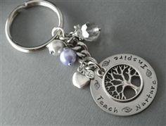 Tree of Life - Teacher Keychain Gift