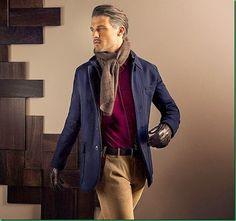 Ben Hill for Massimo Dutti F/W 13 - October Lookbook
