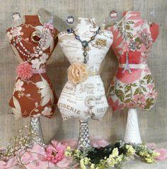 DIY: pincushion dress form pattern