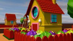 Cartoon House on Behance