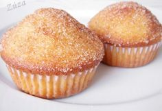 Fahéjas donut muffin | NOSALTY Donut Muffins, Donuts, A 17, Winter Food, Cake Recipes, Cookies, Baking, Breakfast, Cup Cakes