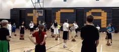 Youth basketball clinic - Coach's Clipboard #Basketball Coaching