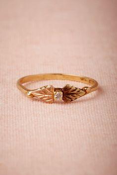 cordate ring