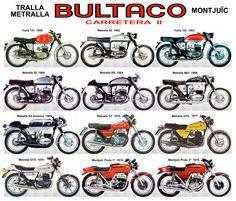 Bultaco / Carretera II / Tralla - Metralla - Montjuïc