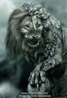 LEO~Stone Lion by CindysArt on DeviantArt (detail) Body Art Tattoos, Sleeve Tattoos, Arm Tattoo, Jasmin Tattoo, Lion Sketch, Stone Lion, Lion Wallpaper, Lion Art, Art Moderne