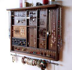 Earring Storage, Jewelry Organizer Wall, Earring Display, Jewelry Holder, Jewellery Storage, Jewellery Display, Men's Jewelry, Jewelry Wall, Chunky Jewelry