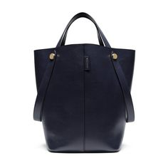 New Edition!2016 Mulberry Handbags Collection Outlet UK-Mulberry Kite Tote Midnight Flat Calf
