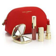 Dolce & Gabbana Seductive Lip Set (870 ZAR) ❤ liked on Polyvore