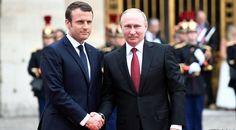 O presidente francês, Emmanuel Macron, recebeu nesta segunda-feira (29/05) o presidente da Rússia, Vladimir Putin, no Palácio de Versalhes, nos arredores de Paris. É a primeira visita de um líder estrangeiro à França desde que o centrista assumiu o cargo, em 14 de maio passado. O encontro foi...