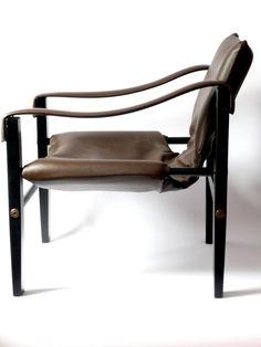 Maurice Burke, Safari Chair for Arkana, 1970s.