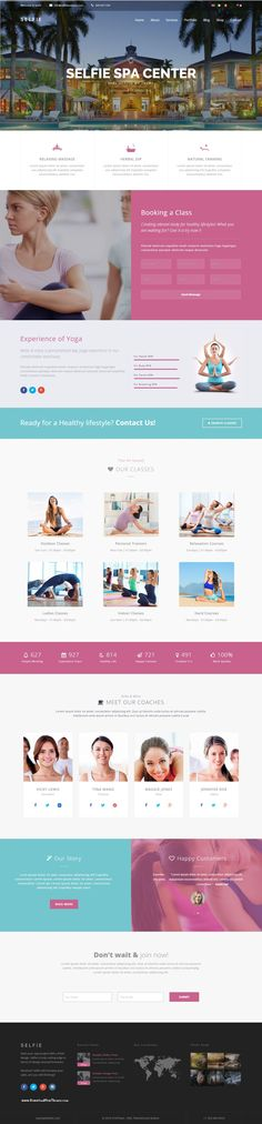 Selfie is a Multi/One Page WordPress Theme that is considered as a perfect solution for all kinds of businesses from corporations Website. Demo #spa #heathcare #Jacuzzi #bath #treatment #yogagirl