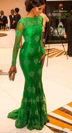Green Lace Prom Dress with Sleeves Graduation Party Dresses Formal Dress For  Teens pst1564 c6fdc8de1f2c