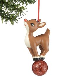 Another great find on #zulily! Department 56 Rudolph the Red-Nosed Reindeer Light-Up Ornament #zulilyfinds