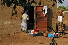 At the grain mill - Burkina-Faso, 2009