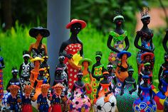Handicraft - city of Olinda, State of Pernambuco, Brasil.