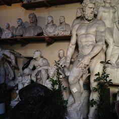 Romanelli sculptures