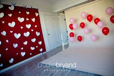 """Nice idea Brooke.  We did something     similar at my friend's wedding (a million years ago).  We tied together     clusters of balloons of different heights.  They were """"anchored"""" to the floor     with bundles of pennies (wrapped in netting, tied with ribbon).  Our     photographers were able to move the clusters where ever they liked for doing     photos in the crowd and on the dance floor.  'Thanks for the memory'     !"""