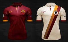 Le nuove maglie della Roma 2014/2015 #as #roma # #maglia