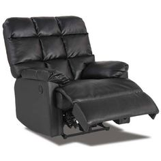 Devy Brown Bonded Leather Recliner 1C2-9639