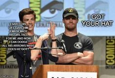 Just wow Oliver just wow. . . We ALL know Barry is better!!!