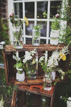 Image by Anna Hardy Photography. - A Festival Inspired Bohemian Wedding With Wildflowers And A Floral Crown At Haslington Hall By Anna Hardy Photography. Chic Wedding, Spring Wedding, Garden Wedding, Perfect Wedding, Wedding Styles, Rustic Wedding, Dream Wedding, Wedding Day, Festival Wedding