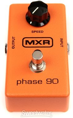 MXR M101 Phase 90 Phaser Pedal Guitar Collection, Soloing, Tech Support, Cool Guitar, Guitars