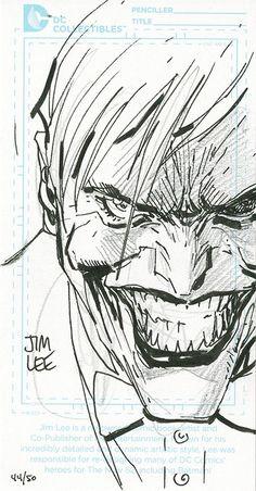 The Joker by Jim Lee *
