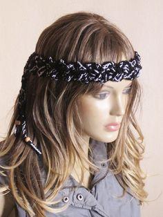 crochet headband hairband handmade boho headbands hair by selenayy #etsy #handmade #headband #hairband #crochet #crochetheadband #crochethairband #hair #bohoheadband #bohemian #hairaccessories #headpiece   #gypsy #headdress #hairaccessory #boho #hippie  #girls #girly