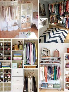 Confira no post de hoje dicas para organizar o guarda-roupa e manter tudo ajeitadinho!