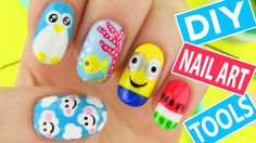 """Terrific «Back to School» Nail Art for Kids  - School may not be our favorite time of the year, but we have to find the best in it and to have the best look for it, as well. """"Back to school"""" nail a... -   ."""
