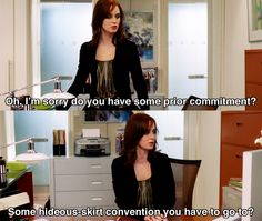 Prior commitment ~ The Devil Wears Prada (2006) ~ Movie Quotes