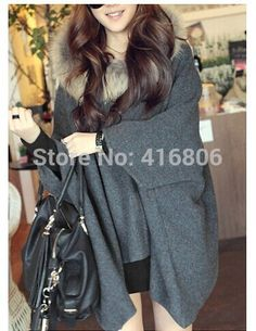 Find More Wool & Blends Information about New Arrival European Fashion Stylish Solid Color Loose Fitting Hooded Sweater For Women Batwing Sleeve Causal Style Woolen Coat,High Quality hood army,China hood sticker Suppliers, Cheap hooded zipper sweater from Chinabestdeals on Aliexpress.com
