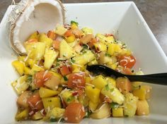 Rochester Community CHIP #9. Tropical fruit salad. #plantbased #lifestyle #hownottodie