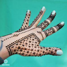Geometric Henna Design    Toko Mehndi