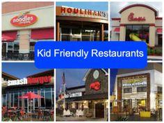 Reviews of kid friendly restaurants.