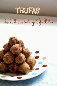 Trufas de chocolate y galleta | Las maría cocinillas