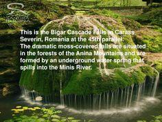 Bigar waterfalls, Romania