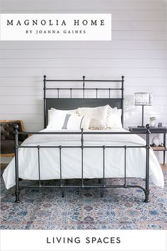 Magnolia Home Bedroom Collections. Retreat to a space that feels comfortable and special with bedroom furniture pieces that complement what you already own & cherish. Joanna has designed each piece to be family-friendly and comfortably livable - her authe Magnolia Home Bedding, Magnolia Homes, Magnolia Bedroom Ideas, Bedroom Sets, Home Decor Bedroom, Bedroom Furniture, Cream Furniture, Bedrooms, Corner Furniture